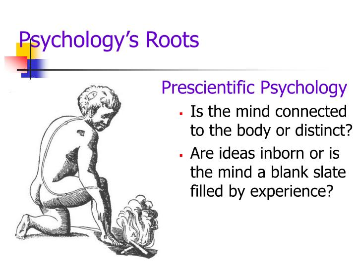 Psychology s roots