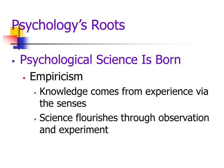 Psychology s roots3