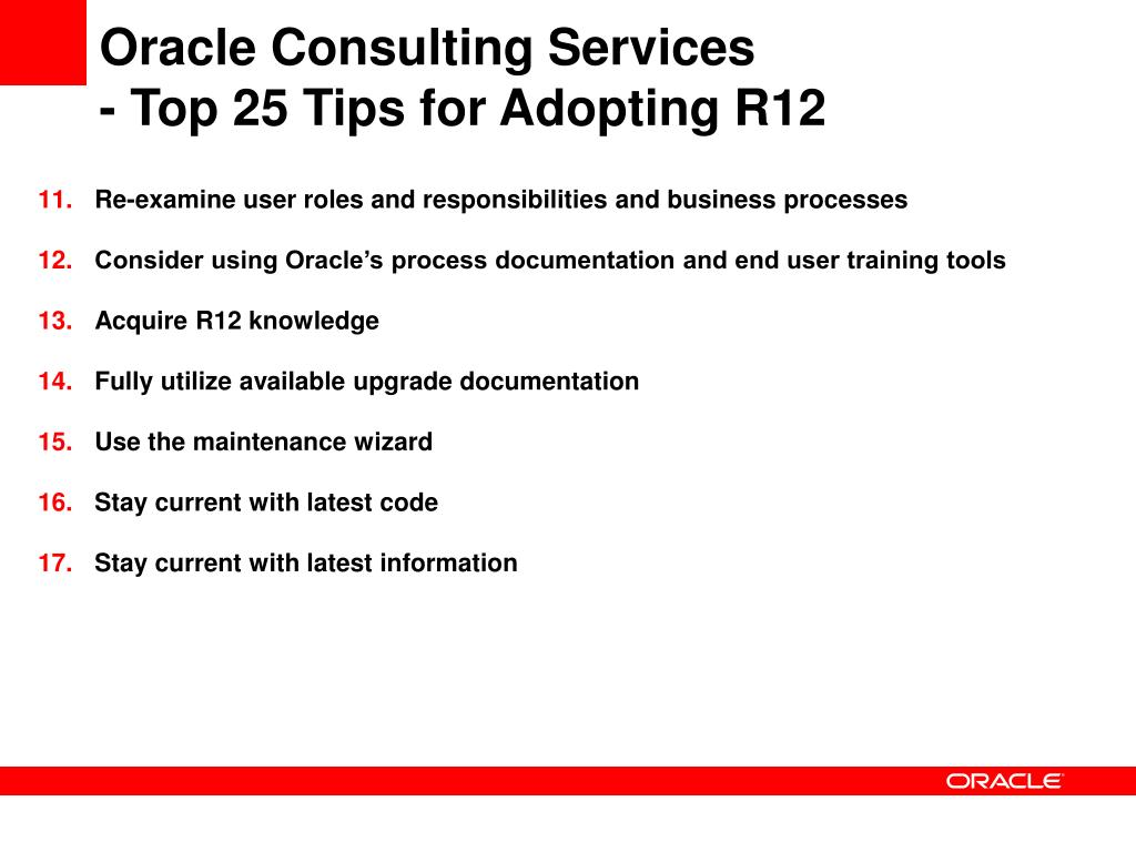 PPT - Best Practices for Adopting Oracle E-Business Suite