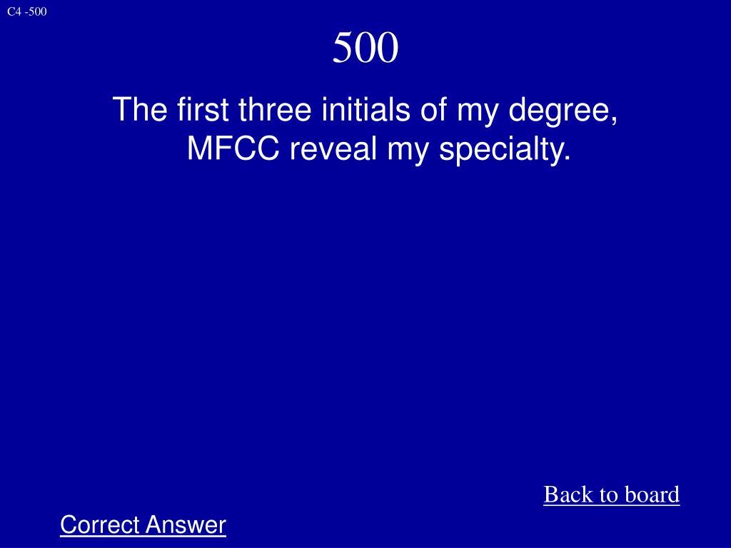C4 -500