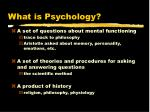 what is psychology3
