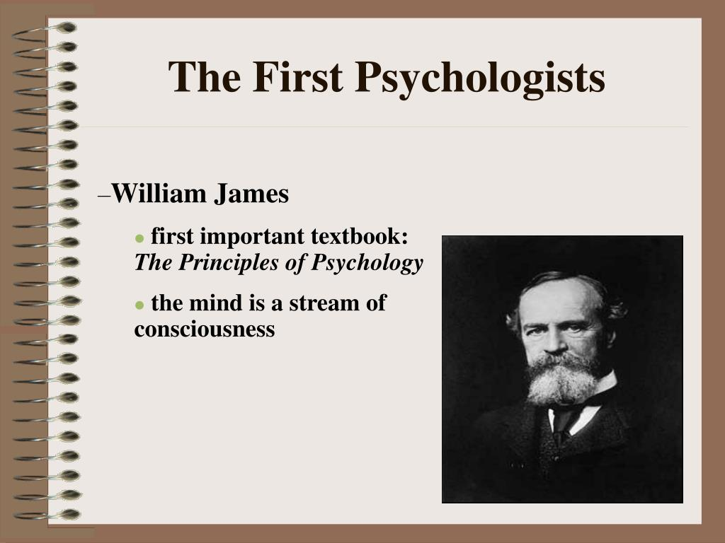 The First Psychologists
