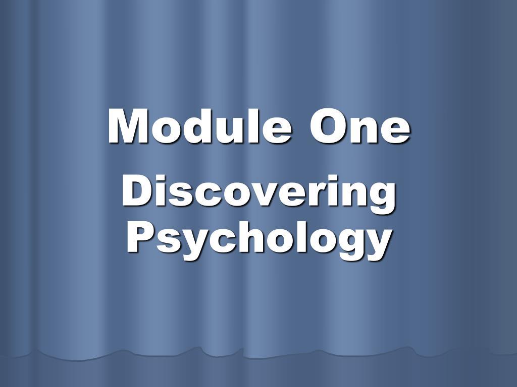 module one l.