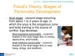 freud s theory stages of personality development11