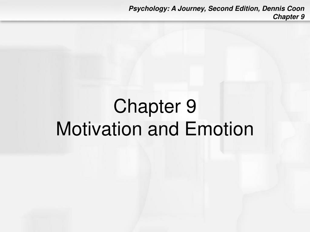 chapter 9 motivation and emotion l.