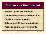 business on the internet1