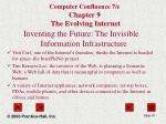 computer confluence 7 e chapter 9 the evolving internet3