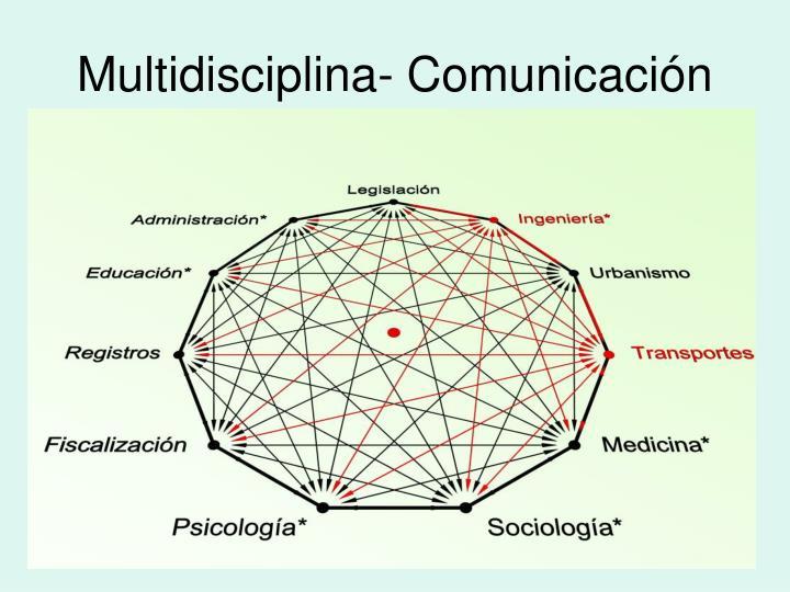Multidisciplina comunicaci n