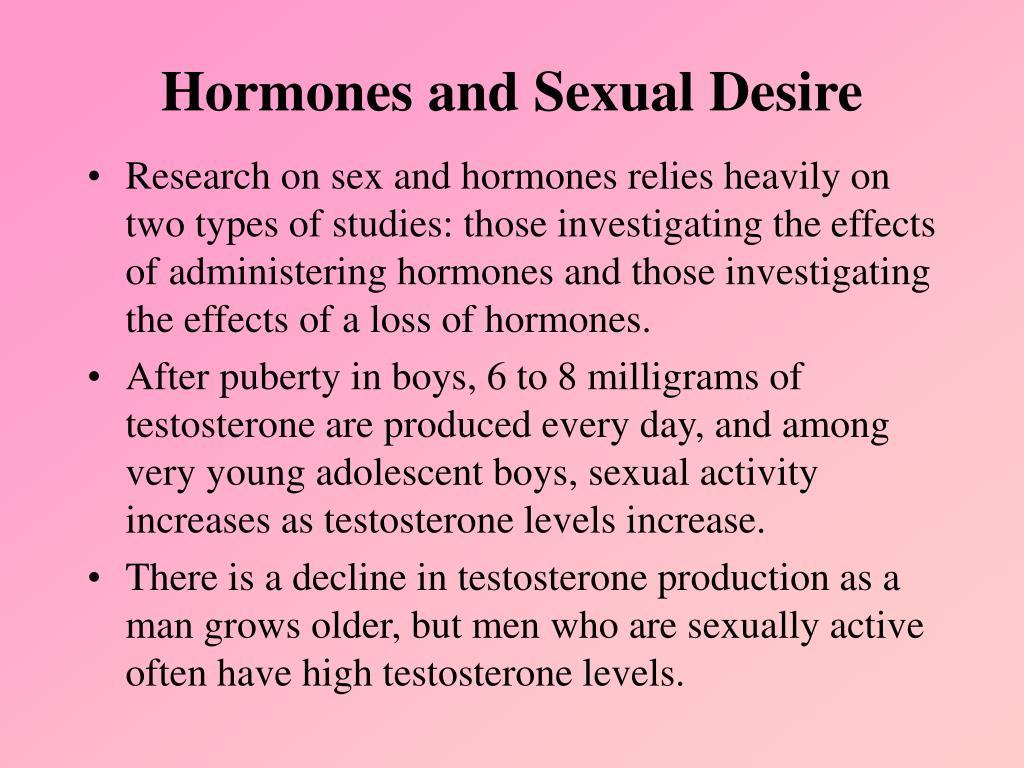 Hormones and Sexual Desire