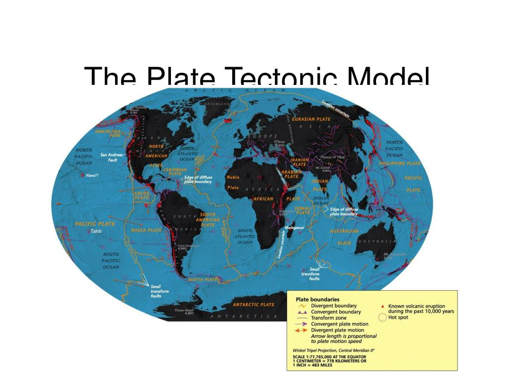 The Plate Tectonic Model