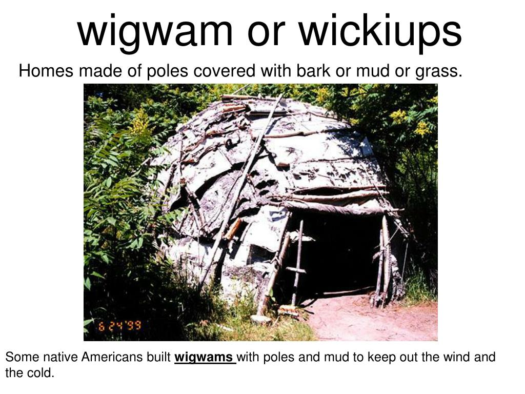 wigwam or wickiups