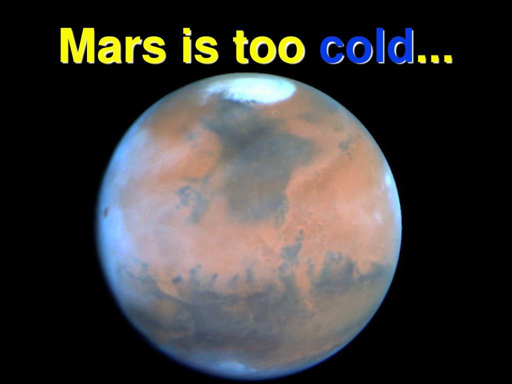 Mars is too
