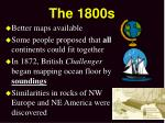 the 1800s