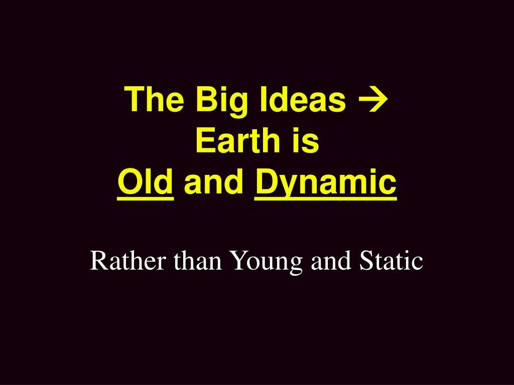 The Big Ideas