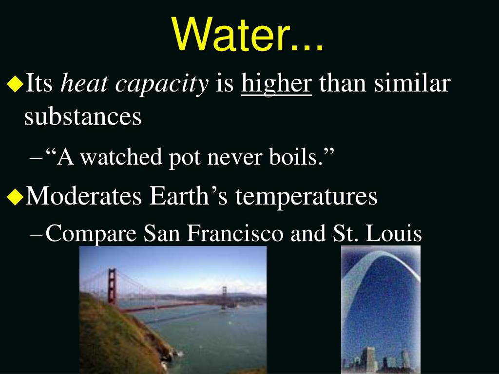 Water...