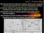 lab 2 contour maps26