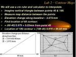 lab 2 contour maps27