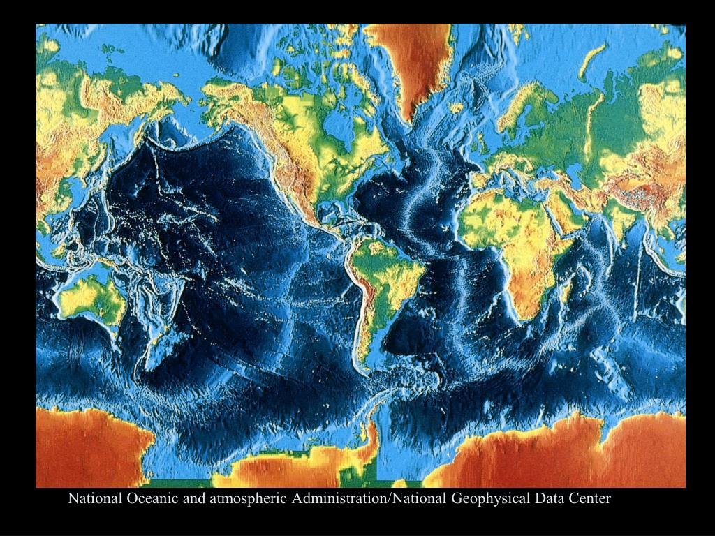 National Oceanic and atmospheric Administration/National Geophysical Data Center