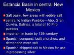 estancia basin in central new mexico