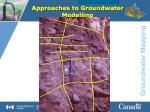 approaches to groundwater modelling8