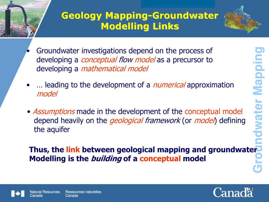 Geology Mapping-Groundwater Modelling Links