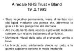 airedale nhs trust v bland 19 2 1993