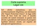 corte suprema legal rule