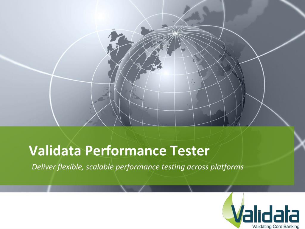 validata performance tester l.