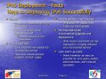 ipv6 deployment facts keys to deploying ipv6 successfully