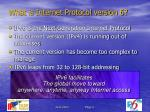 what is internet protocol version 6