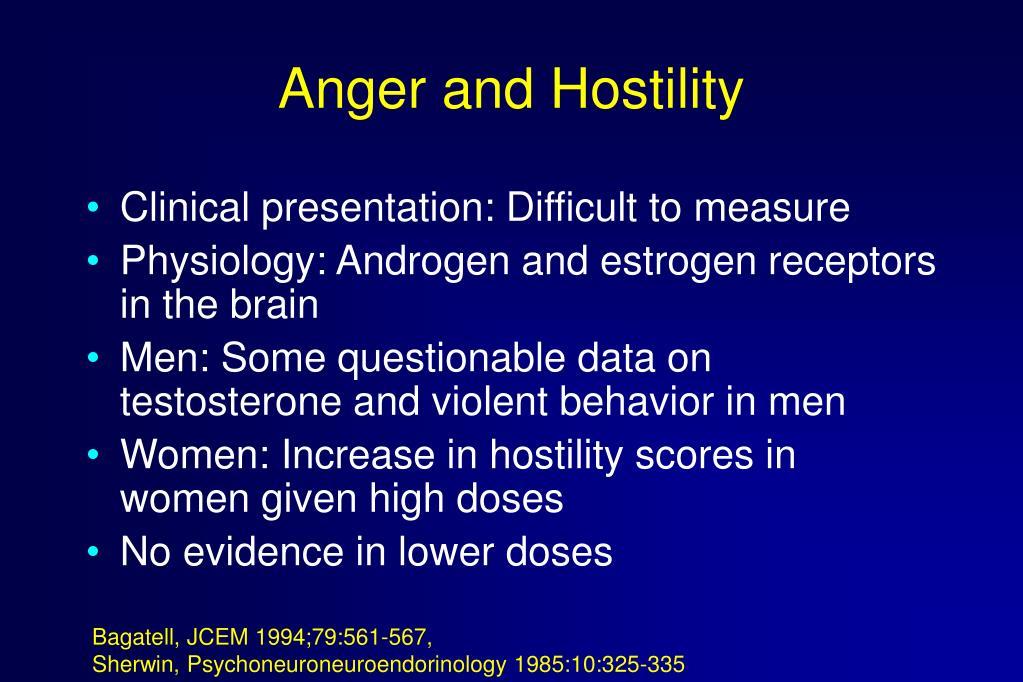Anger and Hostility