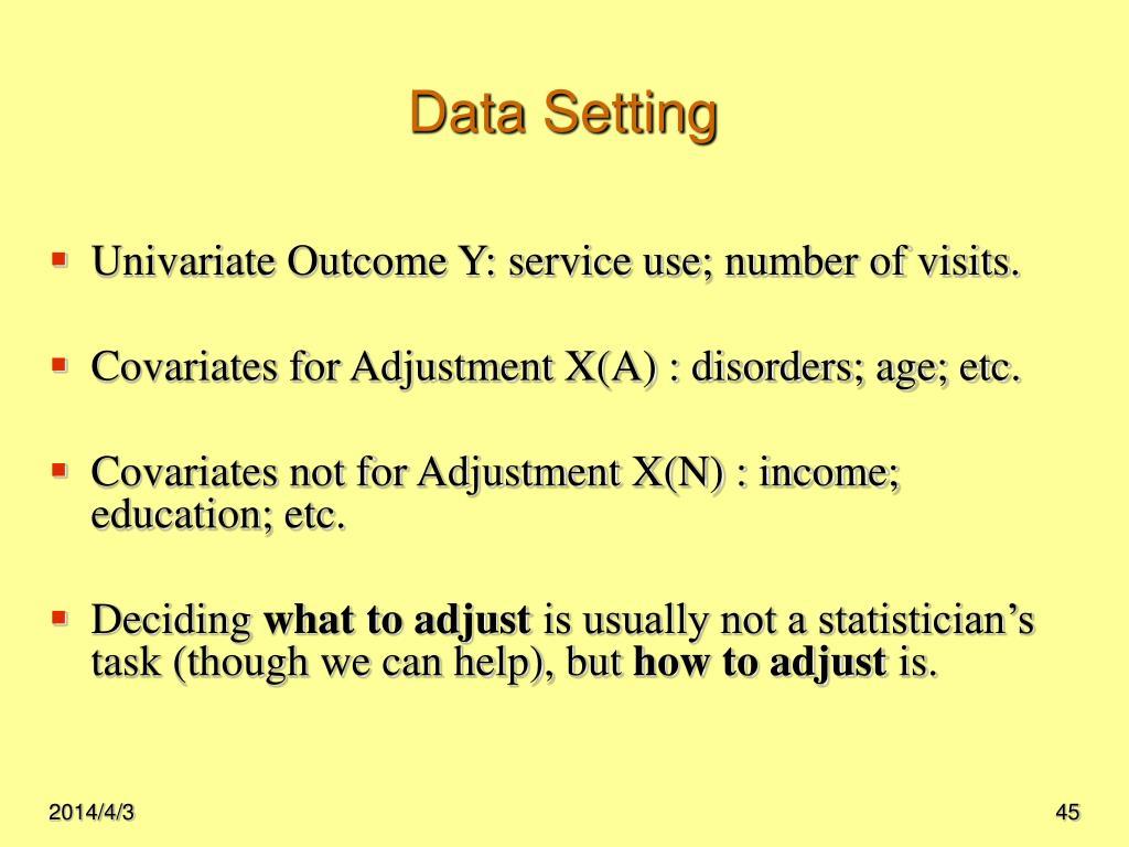 Data Setting