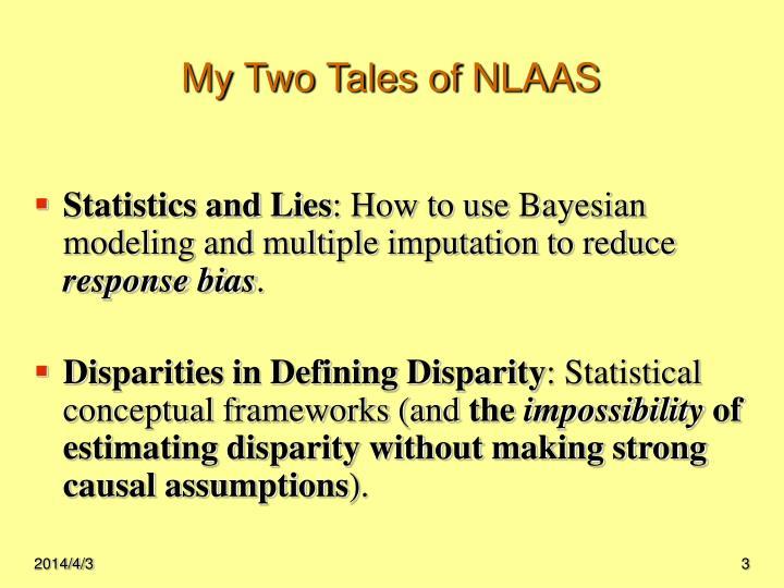 My two tales of nlaas