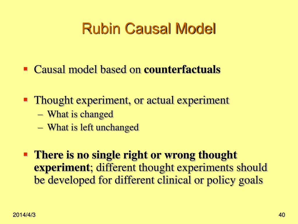Rubin Causal Model