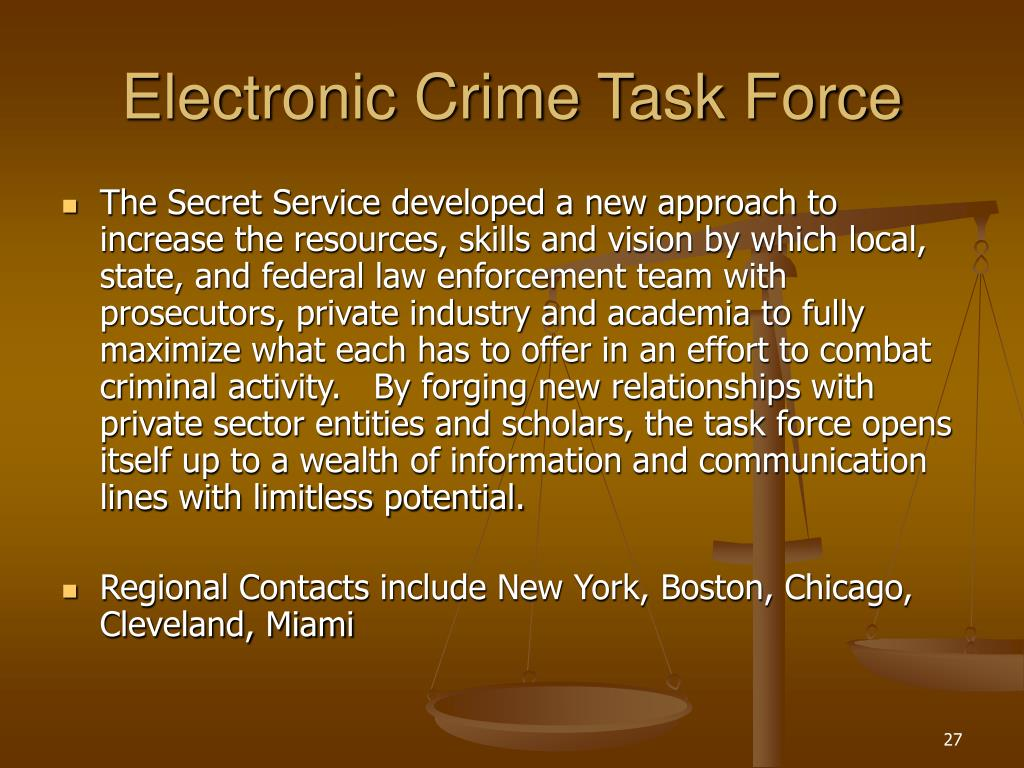 Electronic Crime Task Force