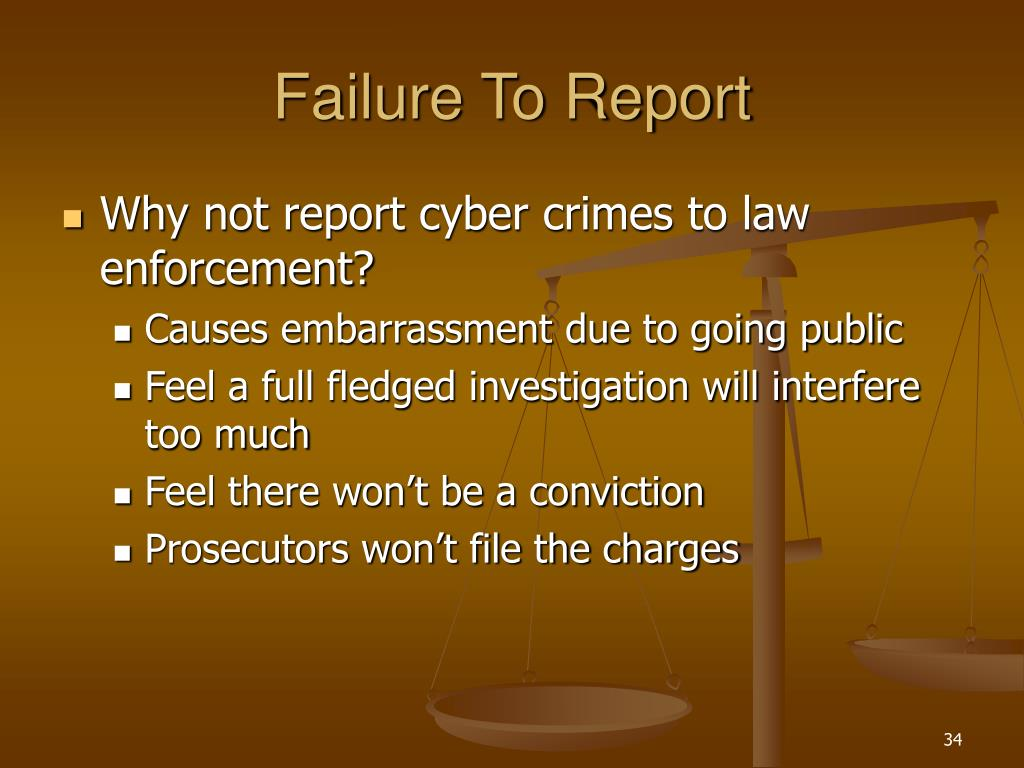 Failure To Report