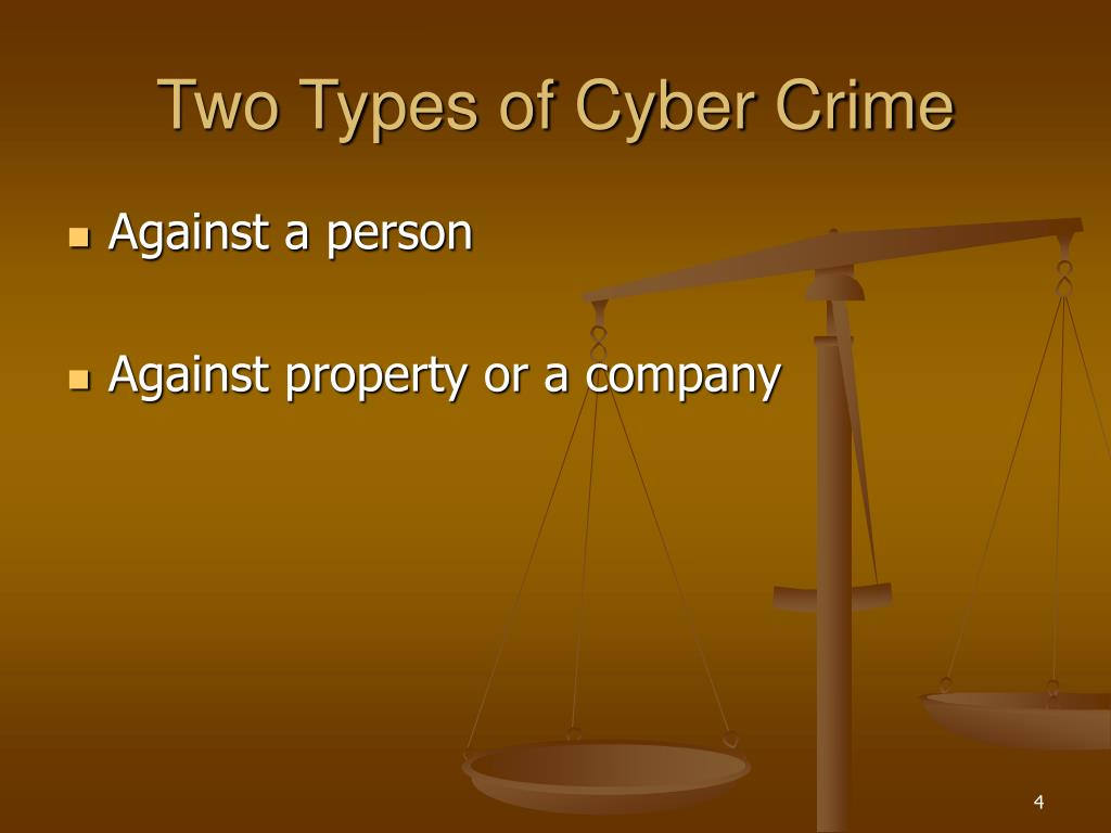 Two Types of Cyber Crime