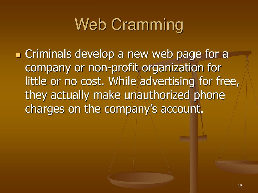 Web Cramming
