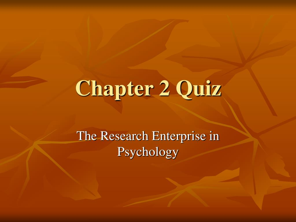 chapter 2 quiz l.