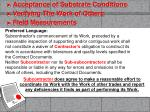 acceptance of substrate conditions verifying the work of others field measurements10