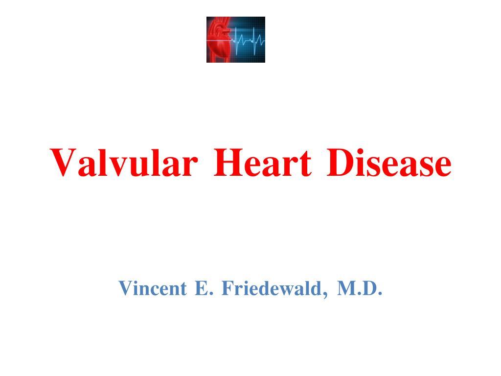 valvular heart disease l.
