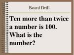 board drill43