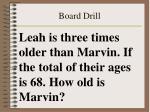 board drill46