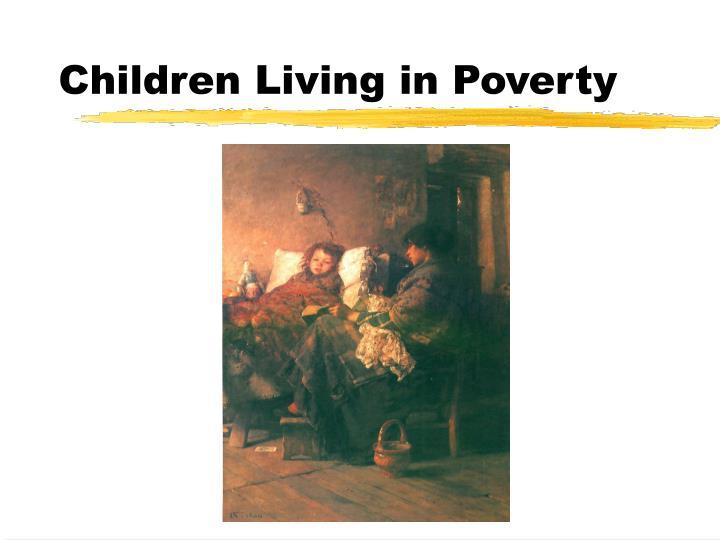Children living in poverty