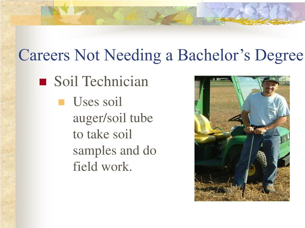 Careers Not Needing a Bachelor's Degree