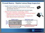 firewall basics stateful versus deep inspection