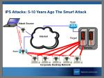 ips attacks 5 10 years ago the smurf attack