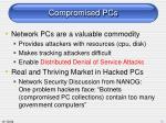compromised pcs