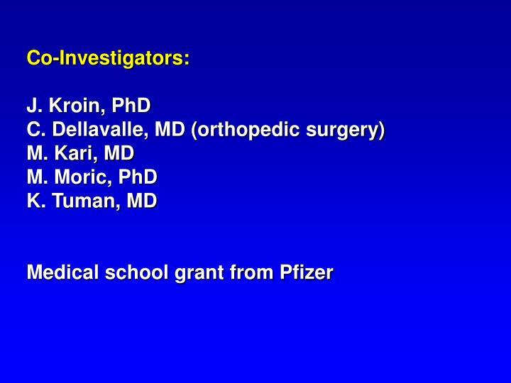 Co-Investigators: