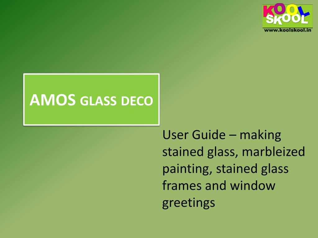 amos glass deco l.